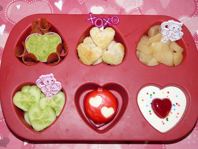 valentine muffin tin