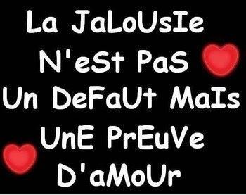 Lettre d'amour jalousie 1