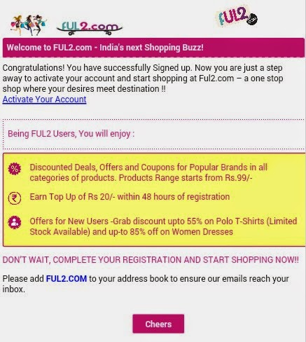 Ful2 Free Recharge Offer - Just Sign Up & Get Rs 20 Free Talktime
