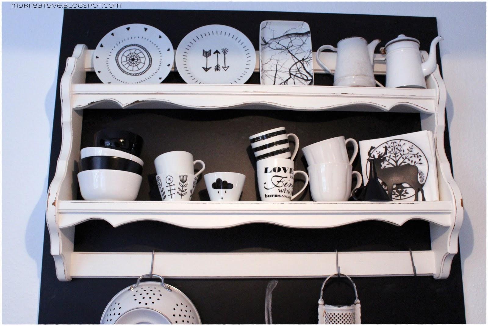 Kreatyve: DIY Porzellan bemalen & neues Design
