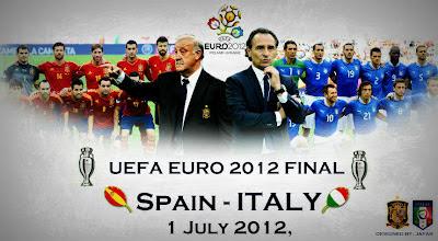 Prediksi Spanyol  Vs Italia Final Euro 2012