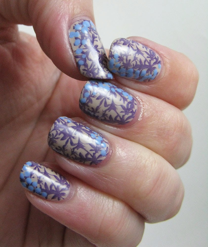 Fashion Inspired Floral Stamping Bundle Monster BM-204