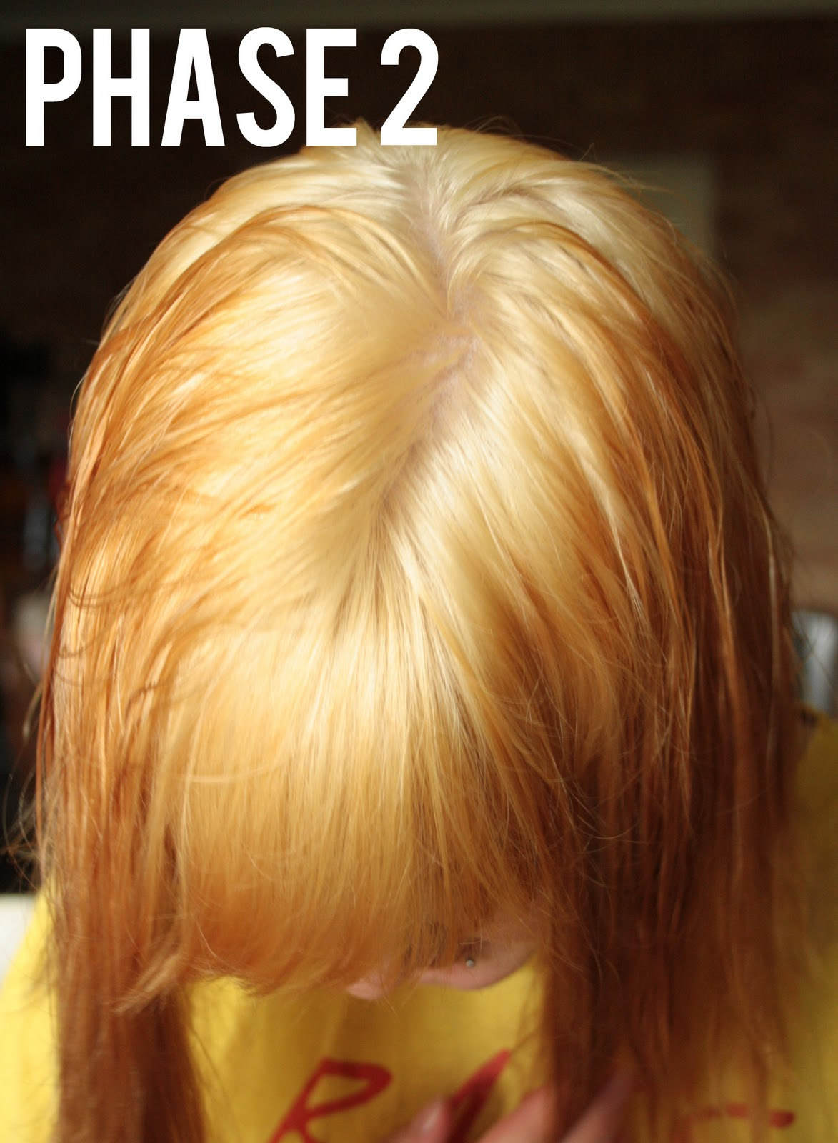 Bleaching And Toning Natural Hair