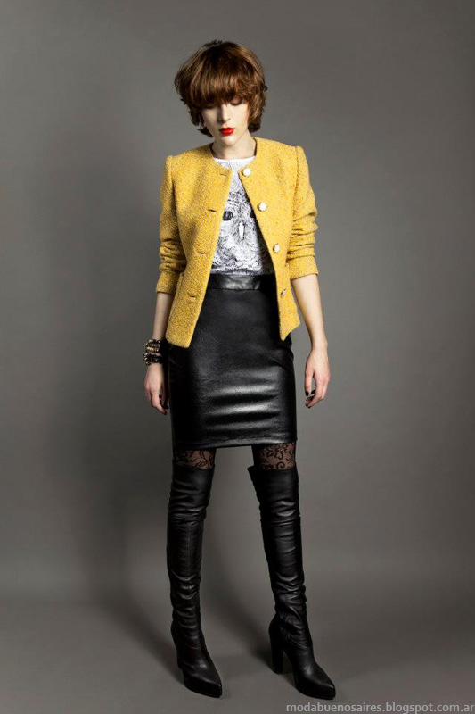 Janet Wise Invierno 2013 Moda.