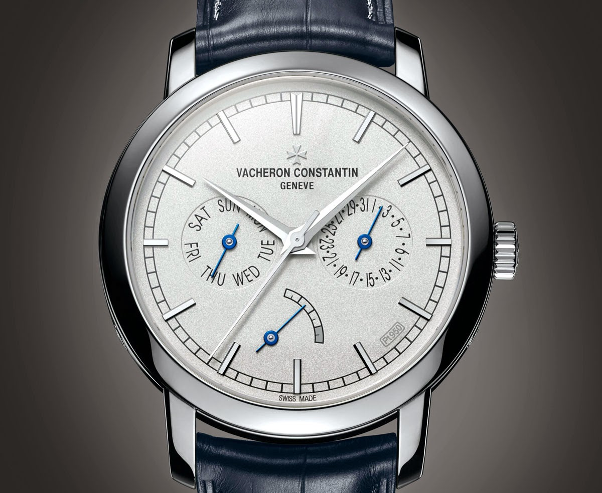 Vacheron constantin traditionnelle day date and power reserve time and watches for Vacheron constantin