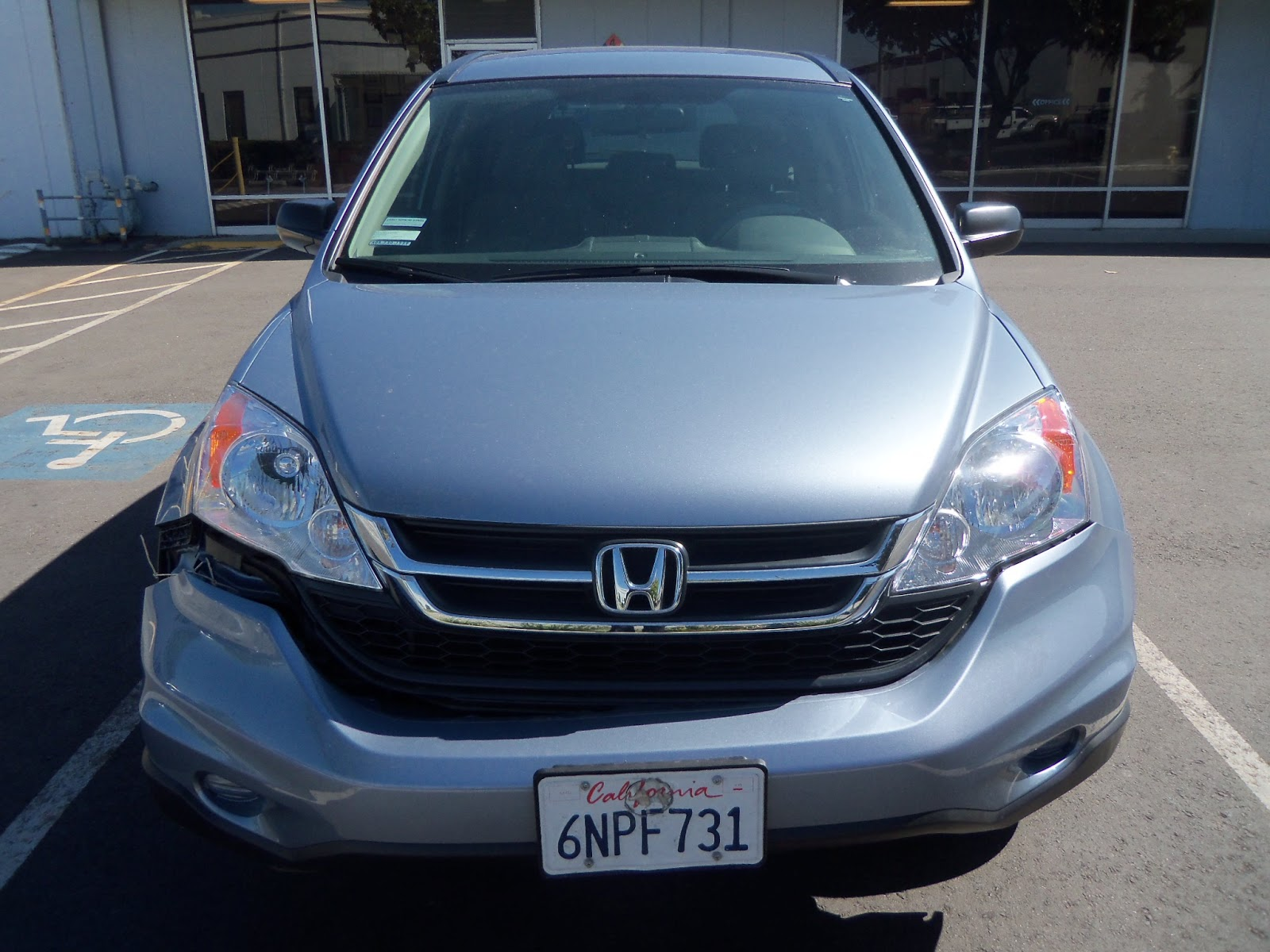 Honda cr v collision repair