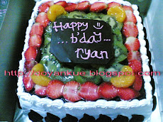 aneka fruit birthday cake