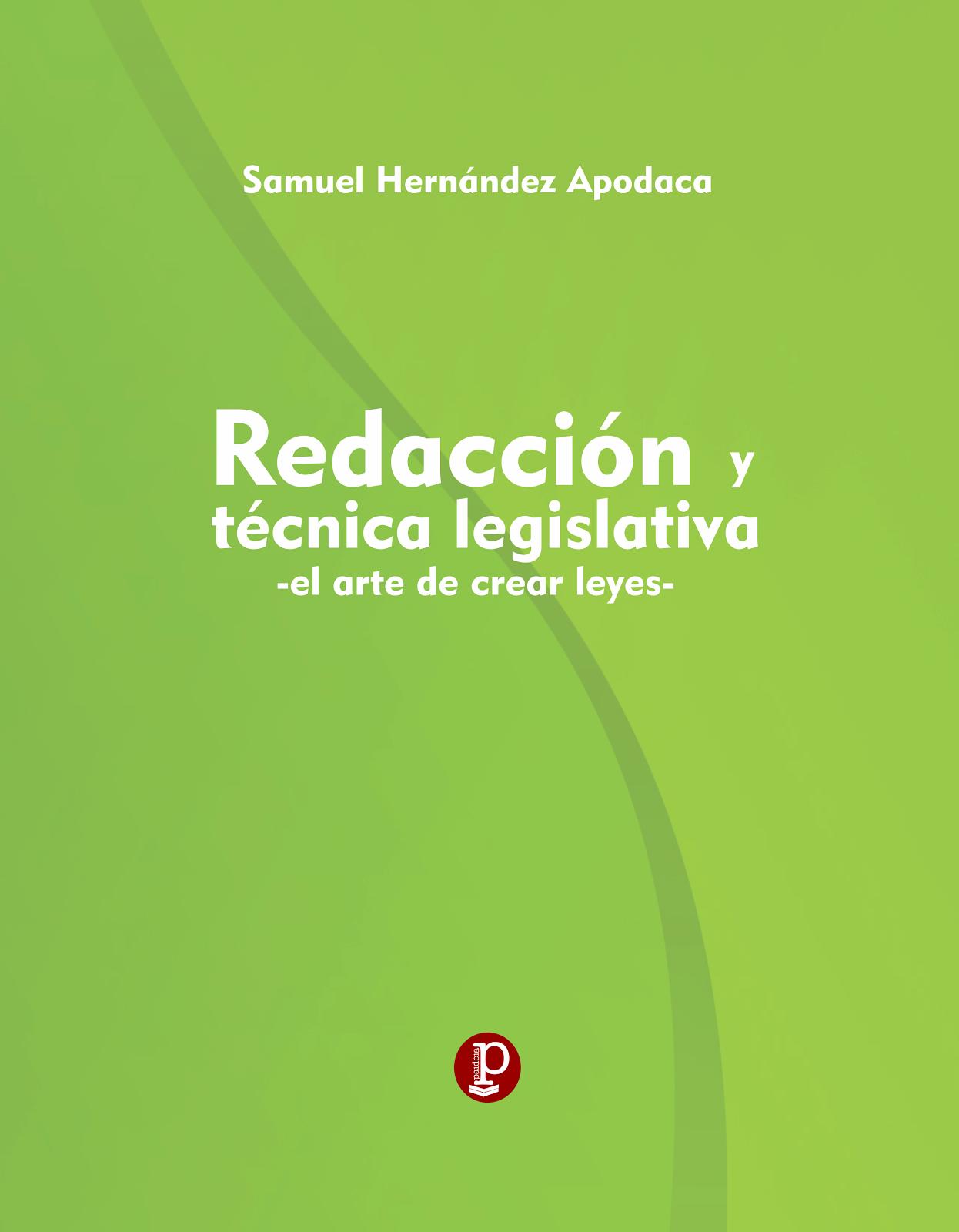Redacción y Técnica Legislativa