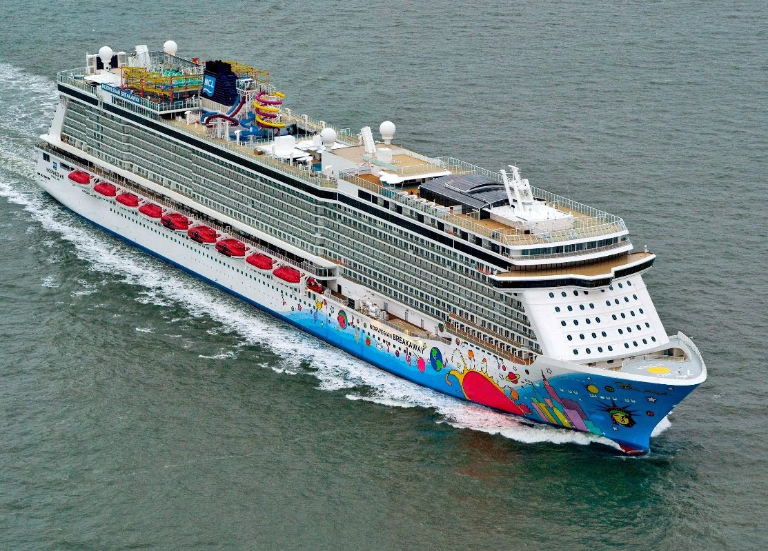 NORWEGIAN BREAKAWAY Current Position DUAL TRACKING Ship - Cruise ship queen victoria present position