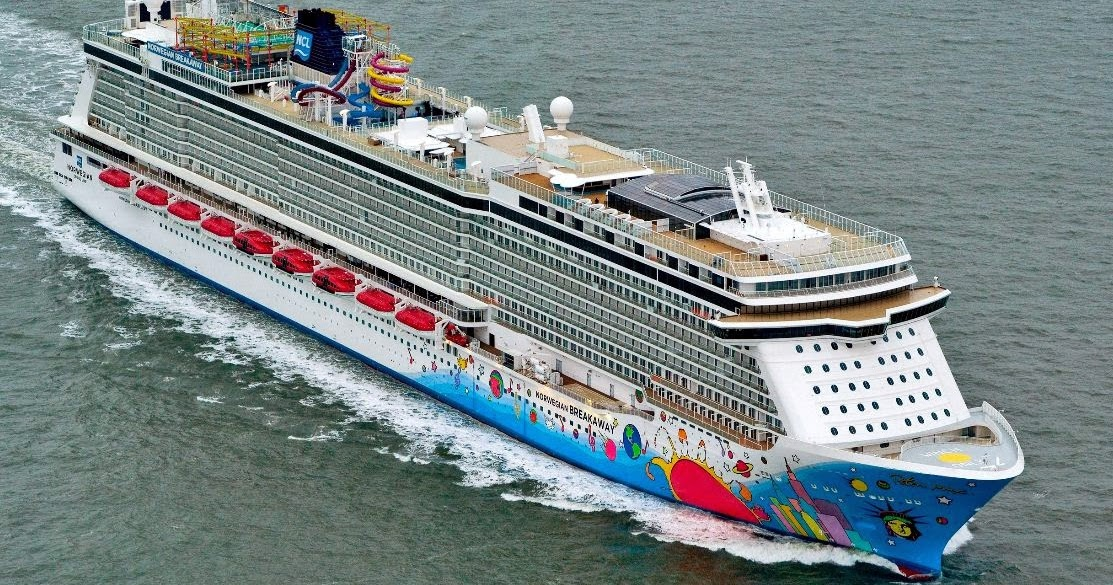 Norwegian Breakaway Current Position Dual Tracking Ship Cruises