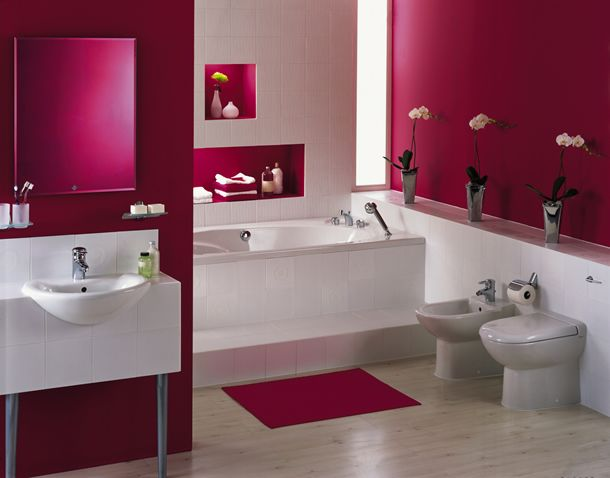 red bathroom decor marmer bathroom decor pink bathroom decor