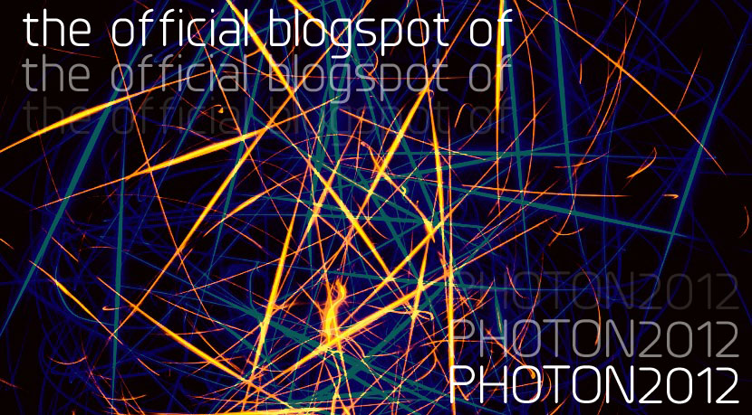 Photon 2012 Blogspot - Your source for Photon 2012 homeworks, requirements and et cetera.
