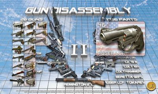 Screenshots of the Gun disassembly 2 for Android tablet, phone.