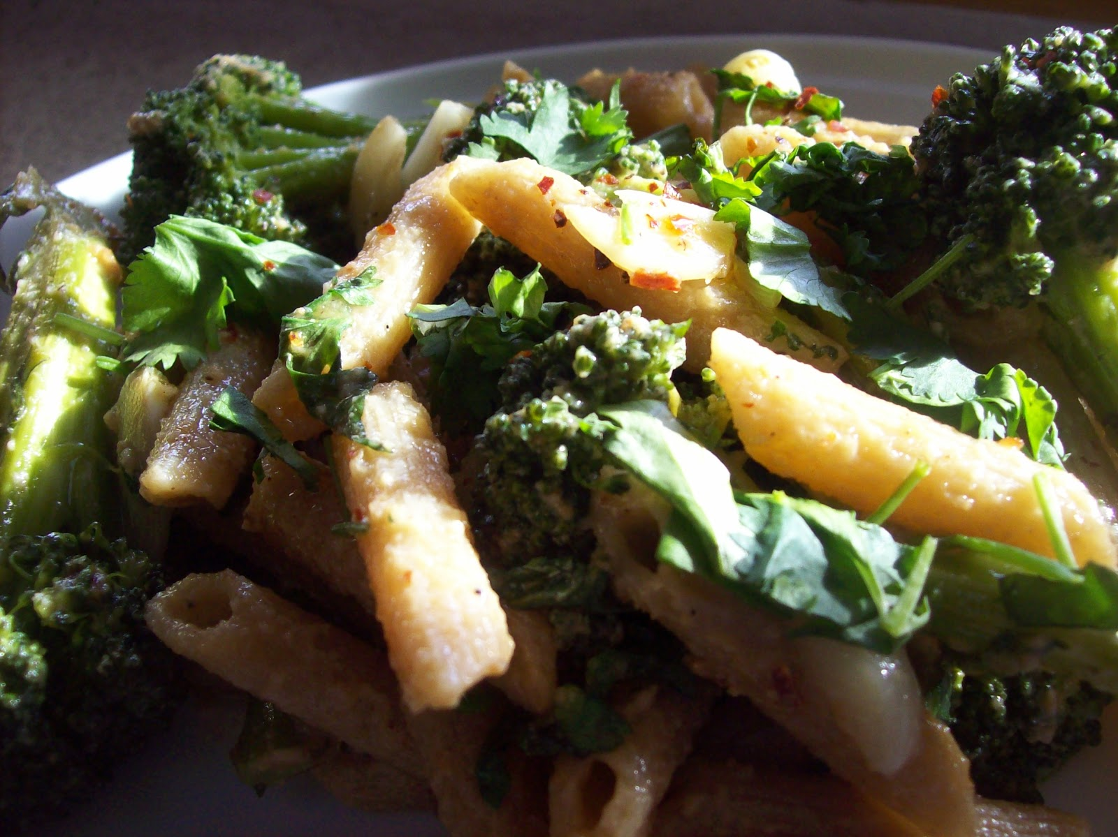 pasta with broccoli spicy cashew pesto 1 batch broccoli with
