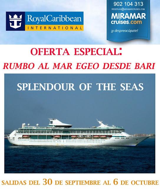 Oferta especial de Crucero por el Mar Egeo desde Bari