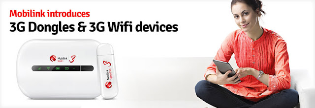 Mobilink 3G WiFi Offer