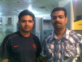 Manoj Balakrishnan (Comrade)  & Sheikh Hameed (Jasina)