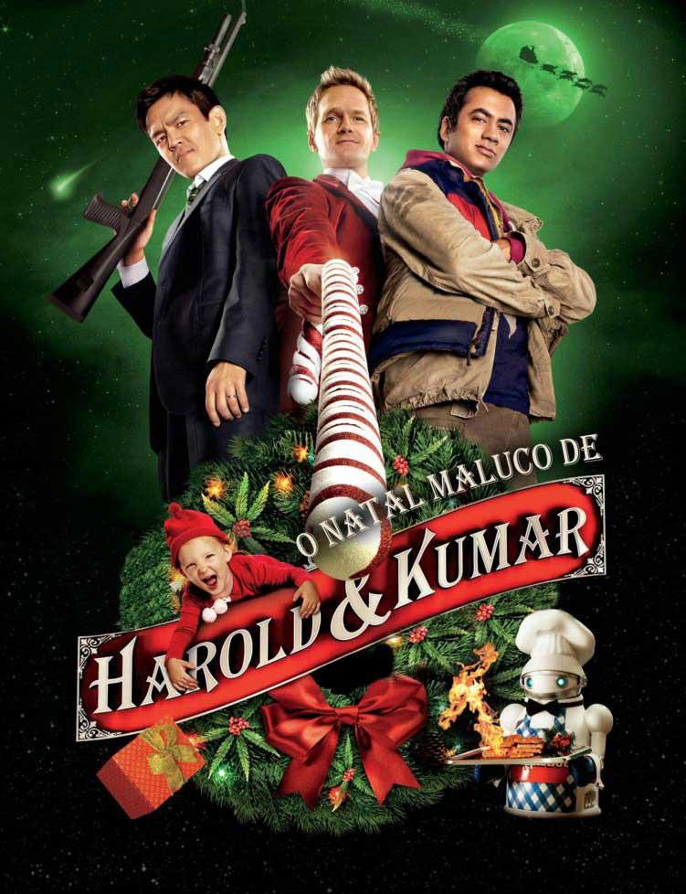 O Natal Maluco de Harold e Kumar 3D Torrent - Blu-ray Rip 1080p Dublado (2011)