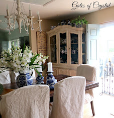Our Dining Room and Painting a China Cabinet