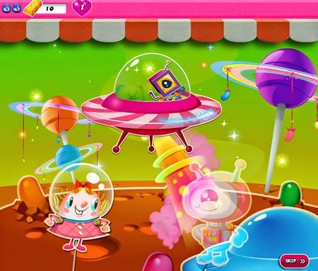 Candy Crush Saga 846-860 ending