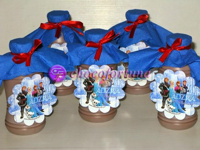 Souvenir susu Ulang tahun birthday Goodie Bag Princess Elsa Frozen