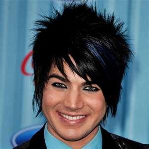 emo hair styling: Adam Lambert Hairstyles
