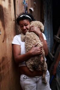 Vítima. Rita dos Santos decidiu abandonar tudo após a tragédia. Foto: Isadora Pamplona