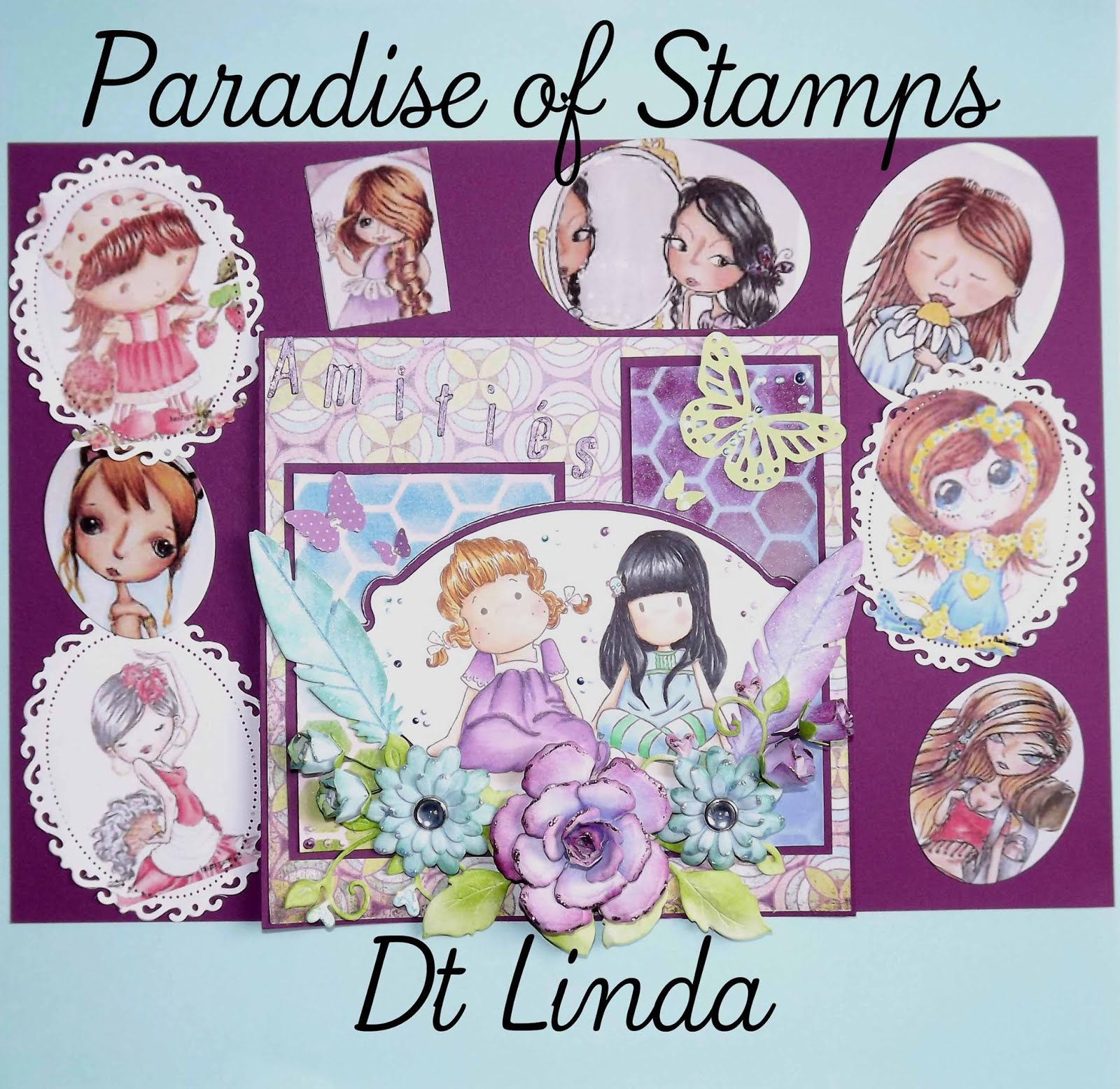 DT Paradise of Stamps 2014-2016