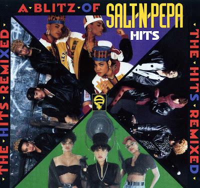 Salt-N-Pepa – A Blitz Of Salt-N-Pepa Hits (CD) (1990) (FLAC + 320 kbps)