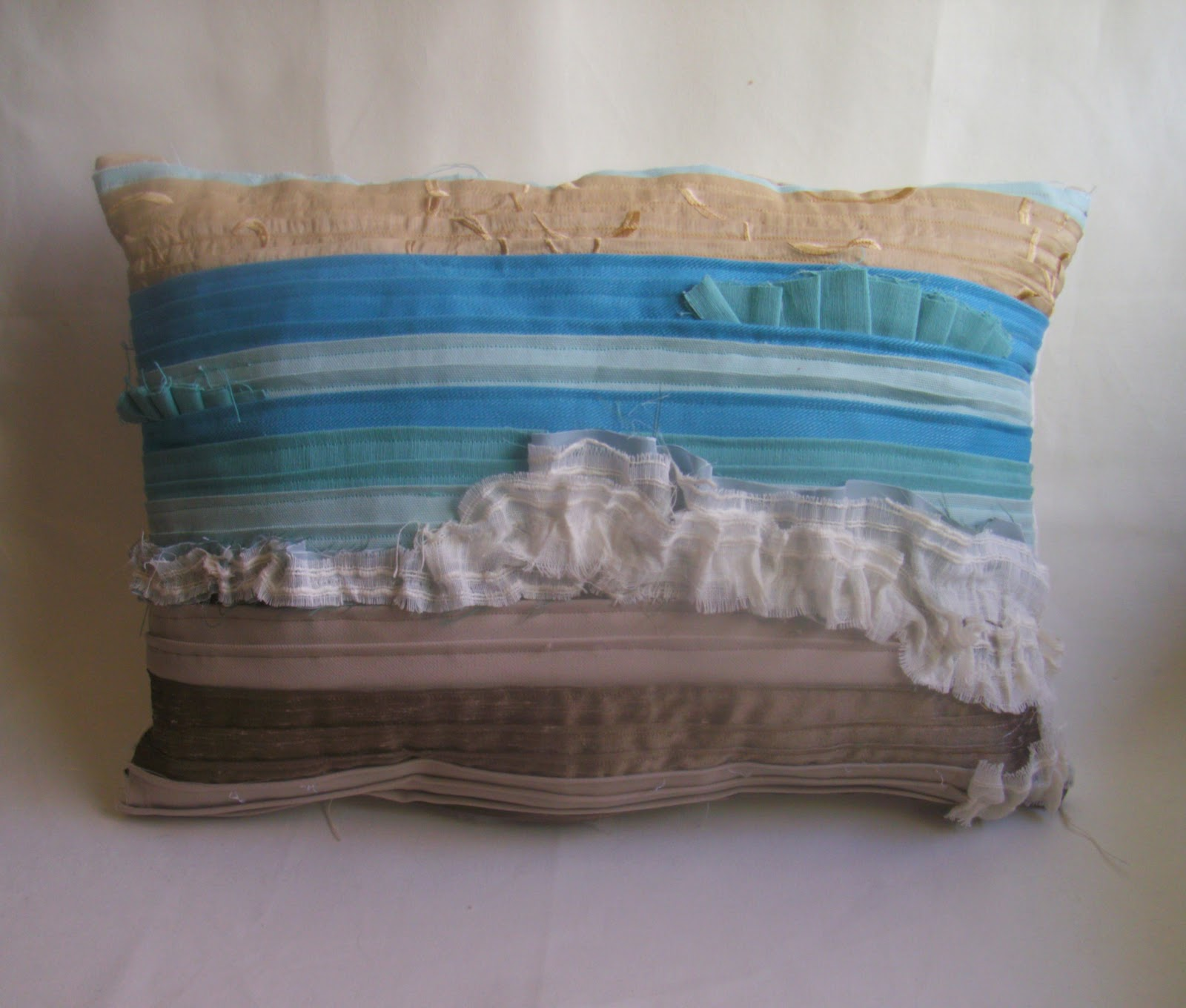 indoor pillow pillows shell nautilus beach rightside cotton beaded design nautiluslumbar lumbar