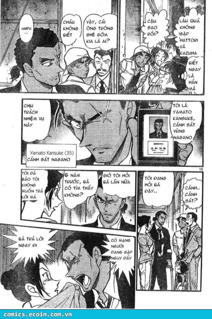 Detective Conan - Thám Tử Lừng Danh Conan chap 613 page 15 - IZTruyenTranh.com