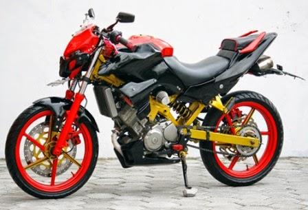 Modifikasi Honda CS 1 Keren Terbaru