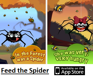 iOS Game of the Month - Feed the Spider