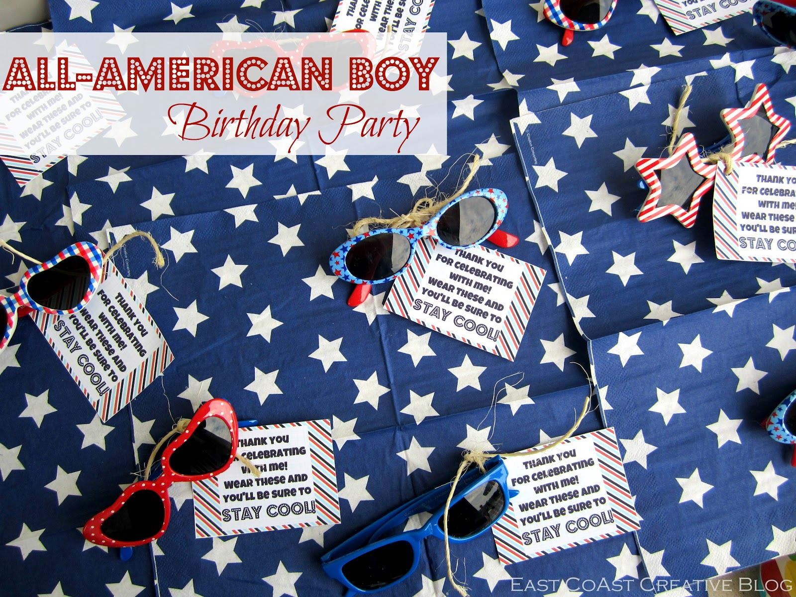 All American Boy Birthday Party