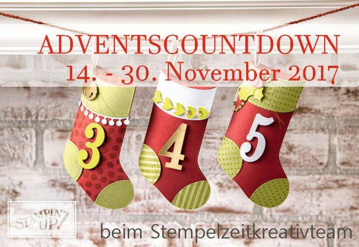 Adventscountdown Stempelzeit Kreativteam
