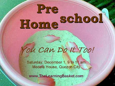 Preschool Homeschool: You Can Do It Too!