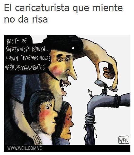 PROPAGANDA RACISTA DE LA DERECHA