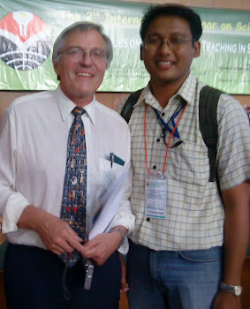 Me and Prof. Hans Dieter Barke from University Of Muenster, Germany