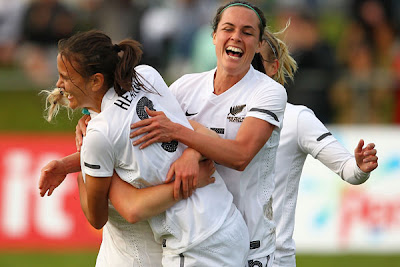 Football Ferns help bring London Olympics to Cardiff