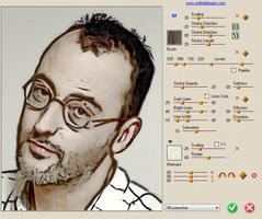 برنامج تحويل الصور الى رسم بالرصاص programme-convert-photo-ala-chart-lead-sketch-master