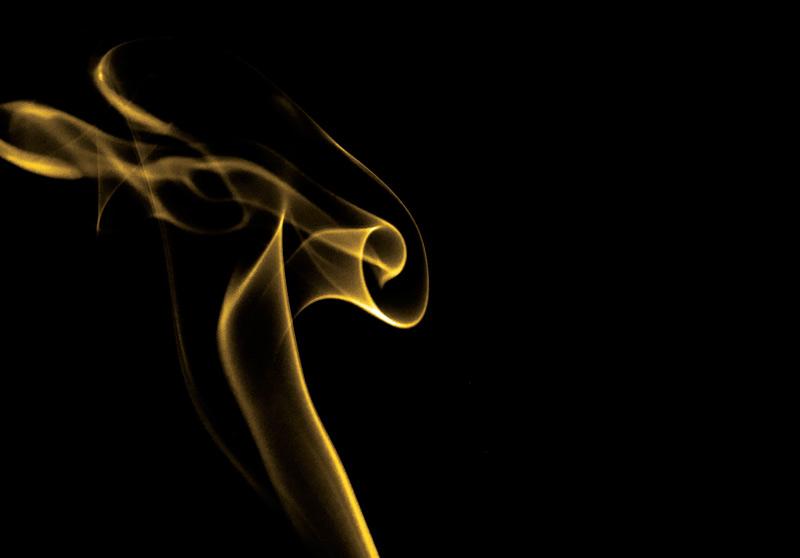 Yellow Smoke Background Yellow Smoke