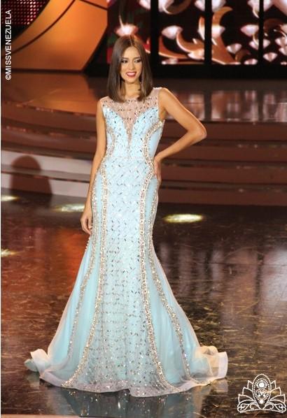 SASHES AND TIARAS.....Miss Venezuela 2015 Finals: Evening Gown Recap ...