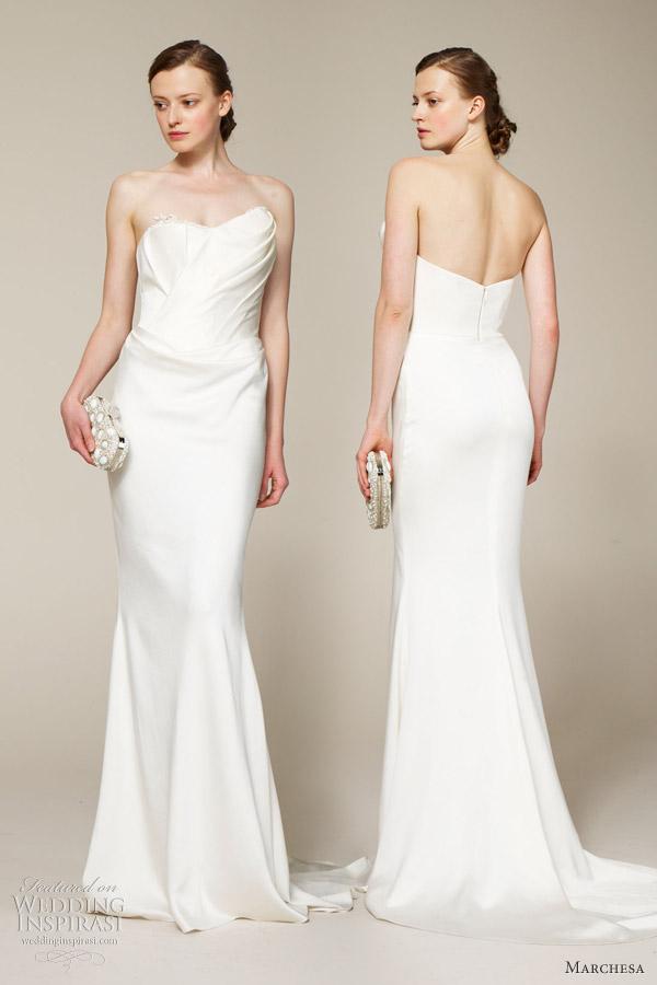 Marchesa Bridal 2013 wedding dresses