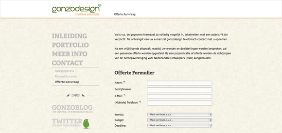 Designing the dreaded form