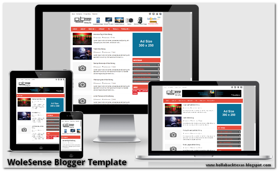 WoleSense  Responsive Blogger Template
