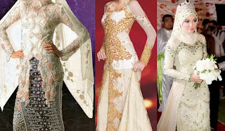 Foto Model Desain Kebaya Muslim Jilbab Modern 2015