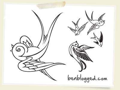 birds tattoos for you sparrow birds tattoos. Black Bedroom Furniture Sets. Home Design Ideas