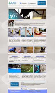 Miniatura home page del sito Impresa di pulizie Righi Modena