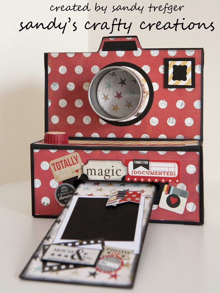 Mickey Magic! Camera Box Tutorial
