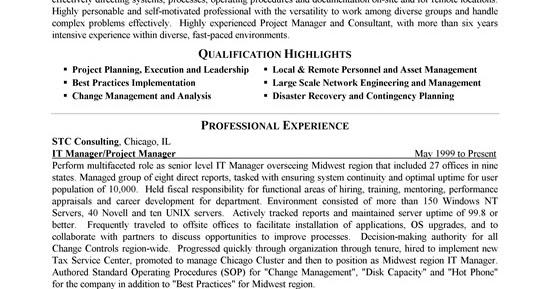 Resume Samples: Staffing Consultant Resume